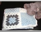 PATTERN - Baby Boy Blanket