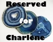 Reserved for Charlene