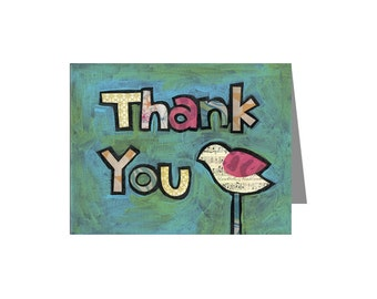 Thank You Card Set of 8