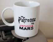 My Patronus is Veronica Mars Hand Painted Mug