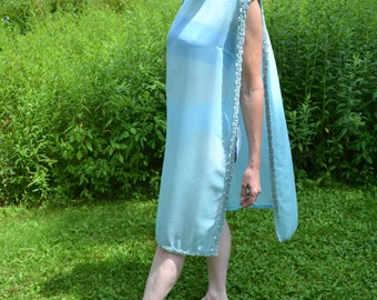 Vintage Chiffon and Sequin Poncho Lingerie - VL139