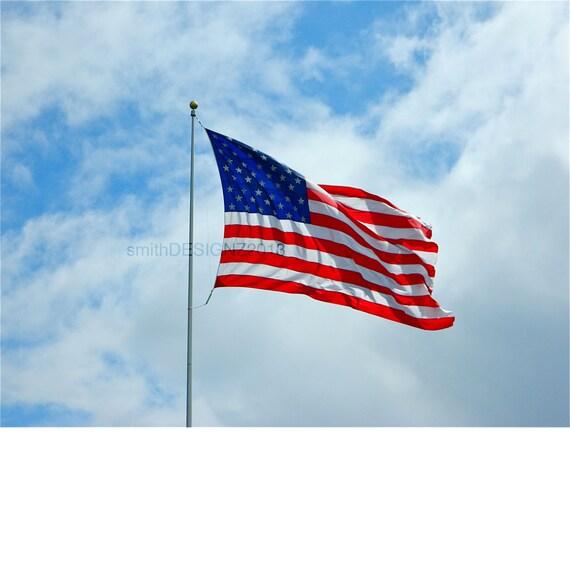 American flag mural americana decor patriotic wall decal for American flag wall mural