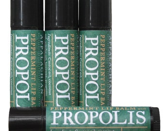 Natural Lip Balm with Propolis 2 Tubes