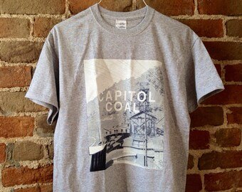Capitol Coal T Shirt From District 12 Hunger Games