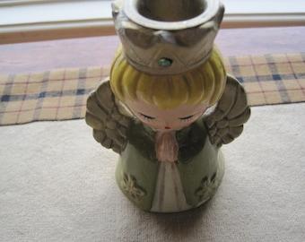 Vintage Ardco Angel Candleholder