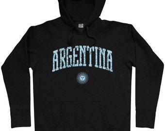Argentina Hoodie - Men S M L XL 2x 3x - Hoody Sweatshirt - 3 Colors
