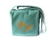 Handmade Medium Bird Messenger Bag