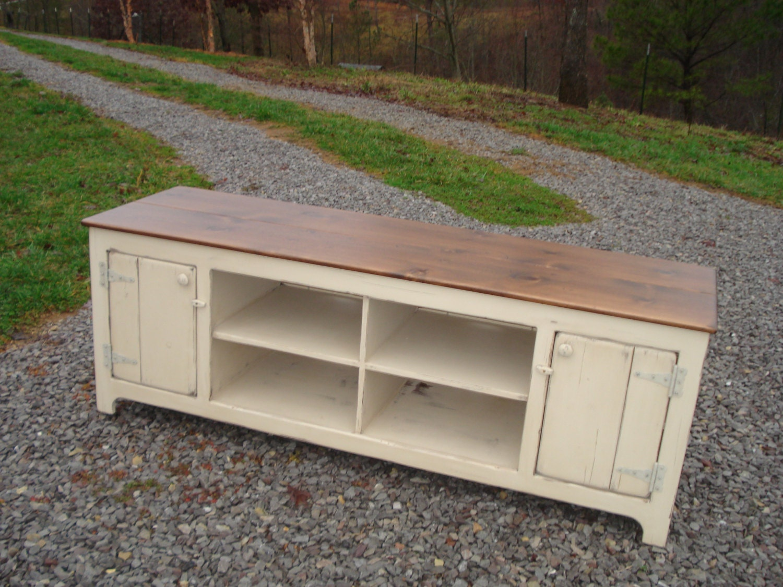 Rustic Kitchen Sideboard Primitive Media Center Rustic Tv Stand Media Cabinet