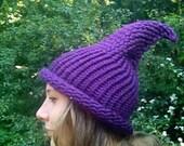 Elf / Gnome Hat Purple
