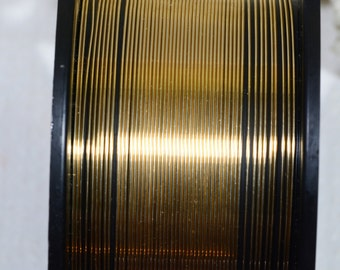 14k GF 24GA  HH Round Wire Jewelry Making Supplies Wire Findings 14/20 Gold Filled Round Wire