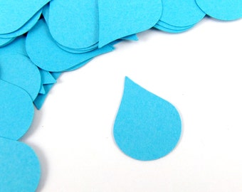 "1"" Raindrop Confetti set of 100"