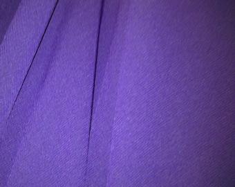Purple Georgette Lightweight Fabric X One Metre