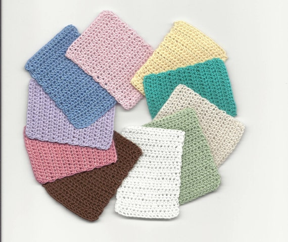 Star Wars Crochet Doll Pattern : Dollhouse Miniature Hand Crocheted Mat / Throw Rug Bamboo