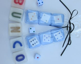 Bunco Soap Favors for bunco party, birthday