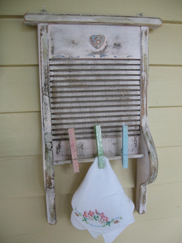 Vintage Washboard Decor Vintage Laundry Room Upcycled