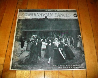Scandinavian Dances Record Album Music From the Northland Vintage 1960 STVX 426 220
