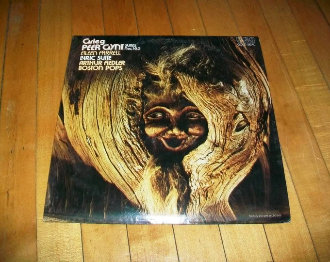 Peer Gynt Record Album Boston Pops Arthur Fiedler AGL1-1524
