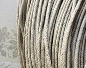 2 mm Khaki Color Cotton Cords (.sah)