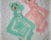 Large Teddy Lovey Crochet Pattern