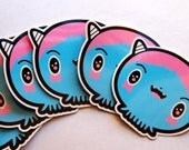 Booba Vinyl Sticker Pack of 2