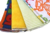 cloth wipes - set of 8, baby wipes, washcloths