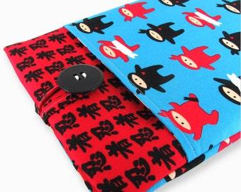 Kindle Paperwhite Case, Kindle Paperwhite Sleeve, Kindle Paperwhite Cover, Kindle Cover, Kindle Sleeve, Kindle Case - Cute Ninjas