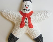 Starfish Ornament - Snowman
