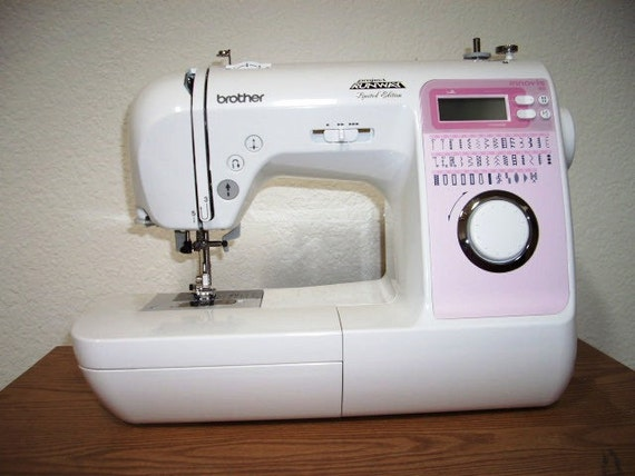 Brother Sewing Machine Innovis 40 Project Runway Brand Pink