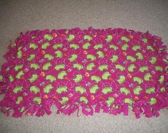 Frogs Fleece Blanket ***Free Shipping***