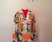 LauraMae Lifepress funky wide-collar blouse