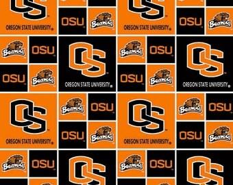 COTTON - Oregon State Beavers - Squares - Old Logo