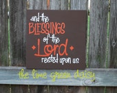 And the Blessings of the Lord