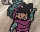 BOO in Costume MONSTERS INC Patch