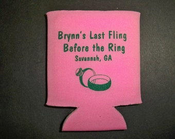 WEDDING FAVOR : Custom  Can Holder 12