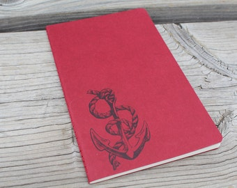 Nautical Anchor Lined  Journal