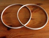 Pack of Two 7 inch Wood Hoops for Children's Craft Projects, Dreamcatchers Pentacles, Mobiles & Sabbat Decorations