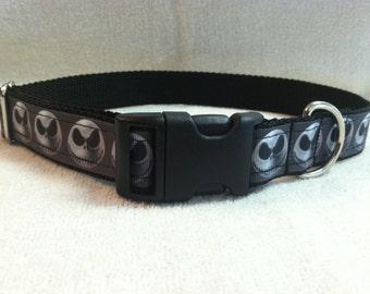 Jack Skellington Inspired Custom Dog Collar