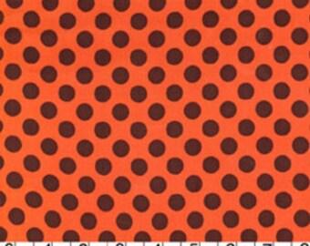 Ta Dot - Ta Dot in Pumpkin Orange - CX1492-PUMP-D - 1/2 Yard