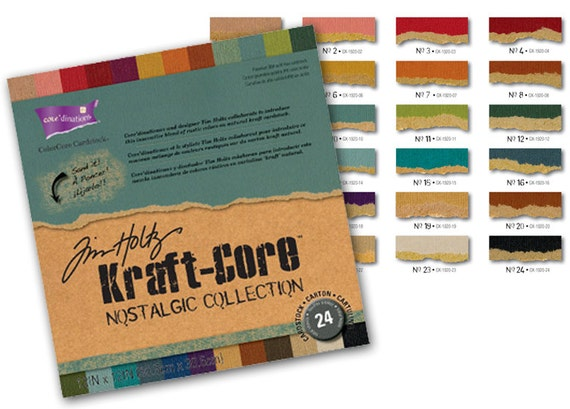 30% OFF TODAY ONLY - Core'dinations - Tim Holtz Kraft-Core - Nostalgic Collection