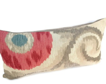 Kravet-10X20 Decorative Pillow Cover-Toss Pillow-Lumbar Pillow-Misty Rose