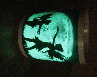 Glow in the Dark Personalised Fairies in the Moonlight Mug