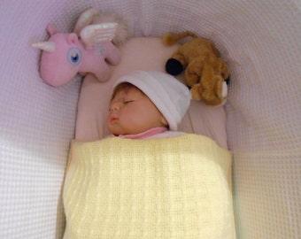 Irish Handwoven Baby Blanket