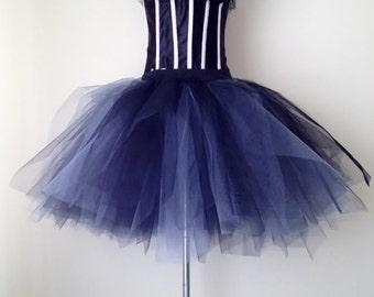 Stunning  Black and Grey TuTu skirt size small U.S. 4 - 10  U.K 6 -12