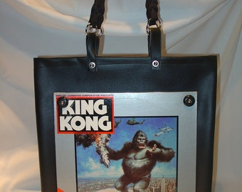 Urban Art Record Album Purse/Tote KING KONG