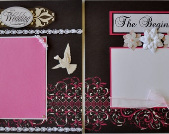 12X12 Premade Wedding Scrapbook Album