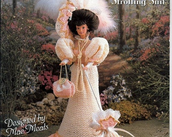 1893 Gibson Girl Strolling Suit Crochet Pattern  Annie Potter Presents 04010397