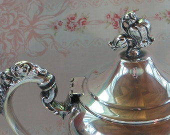 Vintage Silver Plated Coffee Pot, Silver PlatedTea Pot