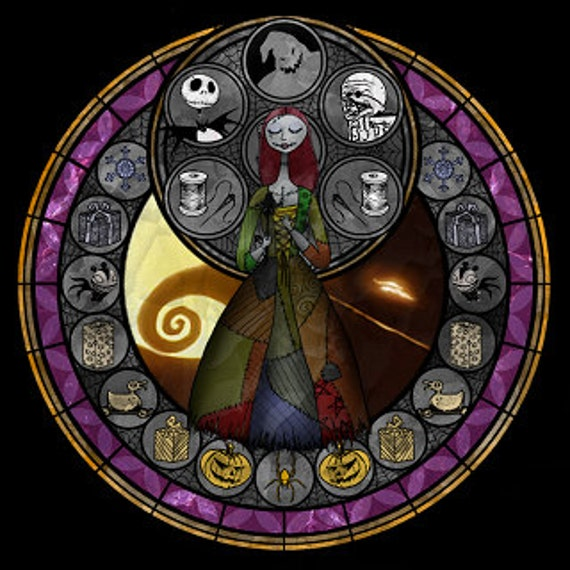 Cross Stitch Pattern for Sally Nightmare Before Christmas Kingdom ...