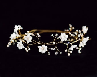 32_Flower crown, Flower tiara, Wedding hair accessories, Flower hair tiara, Wedding tiara, Flower tiaras, Flower crown tiara,Flower tiara
