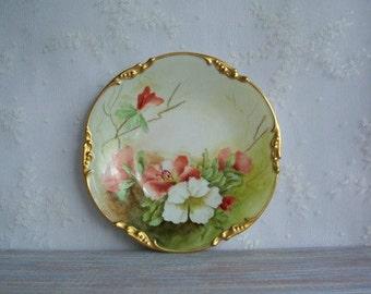 Jean Pouyat Limoges 1906 Plate- Free Shipping